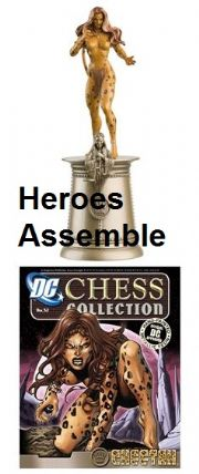 DC Chess Figurine Collection #52 Cheetah Justice League Eaglemoss